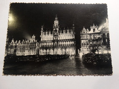 Bruxelles Illumination .- Grand-Place - Brussel Bij Nacht