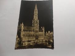 Bruxelles - Illuminations De L'hôtel De Ville. - Brussel Bij Nacht