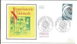FDC 1978 IMPRIMERIE NATIONALE - FDC