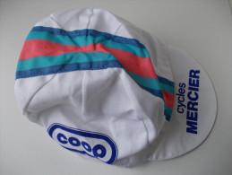- CYCLISME -Tour De France - Ancienne Casquette. Cycles Mercier. Coop - - Caps