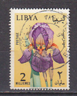 B0257 - LIBYA LIBYE Yv N°273 FLEURS FLOWERS - Libye