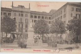CPA ITALIE ITALIA SALSOMAGGIORE Monumento A Romagnesi 1904 - Parma