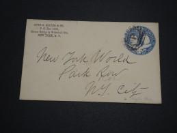 ETATS UNIS - Entier Postal De New York Pour New York - A Voir - L 4631