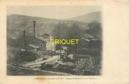 30 Ponteils, Usine St Henri, Carte Pas Courante - Frankreich