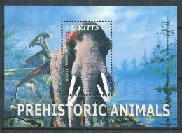 178 SAINT CHRISTOPHE (St Kitts) 2005 - Yvert BF 76 - Mammouth Animal Prehistoriq - Neuf ** (MNH) Sans Trace De Charniere