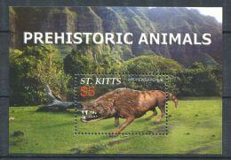 178 SAINT CHRISTOPHE (St Kitts) 2005 - Yvert BF 77 - Andrewsarchus Prehistoire - Neuf ** (MNH) Sans Trace De Charniere