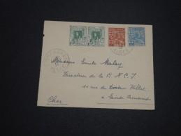 FRANCE / ALGÉRIE - Enveloppe De Alger Pour La France En 1932 , Affranchissement Plaisant - A Voir - L 4644 - Algérie (1924-1962)