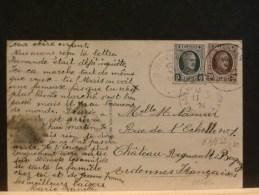 63/832  CP  BELGE  1924 QUIVRAIN - België