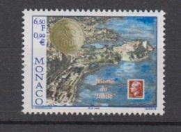 1999-MONACO- N°2220** BOURSE DU JUBILE - Unused Stamps