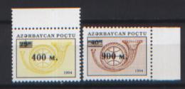 Azerbaijan 1995 Unif.245/46 **/MNH VF - Azerbaijan