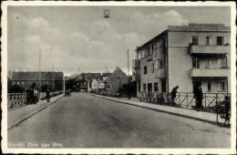 Cp Varde Dänemark, Den Nye Bro, Straßenpartie, Wohnhaus, Neue Brücke - Dänemark