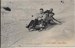 CPA Bobsleigh Bob-Sleigh Luge Sport D´hiver Circulé Suisse Helvétia Leysin - Sports D'hiver