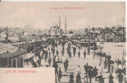 Turquie Constantinople  Le Nouveau Pont Galata Karakeuy - Turchia