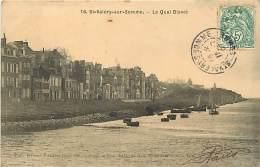 80 SAINT VALERY SUR SOMME -  Le Quai Blavet - Saint Valery Sur Somme