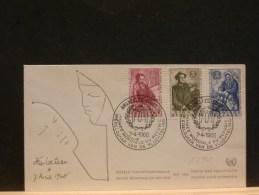 63/861  FDC  BELGE  1960 - Vluchtelingen