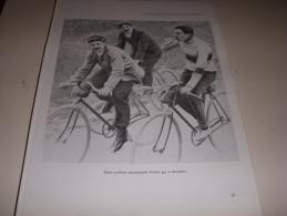 CYCLISME COUPURE LIVRE T087 TdF1906 René POTTIER ENCOURAGE Par 2 CYCLISTES - Cyclisme