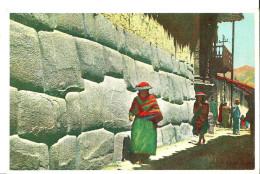 Pérou. Cuzco, Calle Yatun Ramiyoc. - Peru