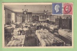 PLOERMEL : Hôtel De Bretagne Et De La Gare, Vue Intérieure . 2 Scans. Edition Combier - Ploërmel