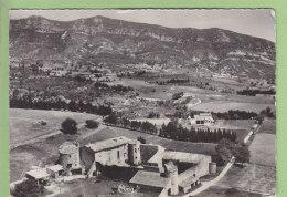 LA ROCHE SAINT SECRET : Vue Aérienne, Château D'Alençon, Au Fond Montagne De Rachas. 2 Scans. Edition Combier Format CPM - Autres Communes