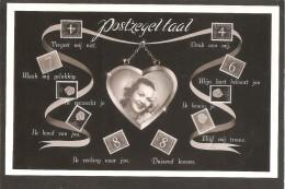 Postzegeltaal. Van Krimpen-Juliana En Profiel - Postzegels (afbeeldingen)