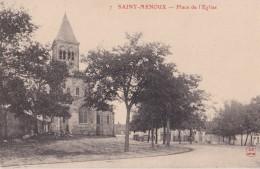 7 SAINT MENOUX                        Place De L'eglise - Autres Communes