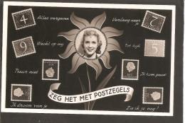 Postzegeltaal. Van Krimpen-Juliana En Profiel. Z.O.P. !!! - Postzegels (afbeeldingen)
