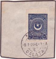 TURKEY 1923 IMPERF USED - Turkey
