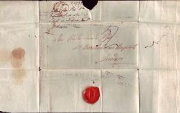BAHAMAS ENTIRE TO LONDON 1833 - Bahamas (...-1973)