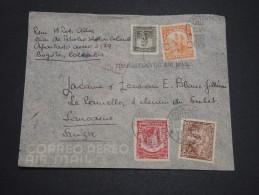 COLOMBIE - Enveloppe De Bogota Pour La Suisse En 1941 , Affranchissement Plaisant ( Manque 1 Valeur) - A Voir - L 4677 - Colombie