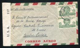 MEXICO WORLD WAR 2 GERMAN INTERNMENT CAMP PEROTE CENSORS - Mexico