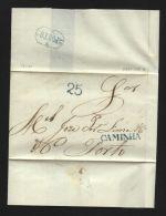 PORTUGAL 1851 - CAMINHA TO PORTO ENTIRE - Portugal