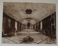 ANTIQUE PHOTO ROSENBURG CASTLE COPENHAGEN DENMARK KNIGHTS HALL 1890 - Photographs