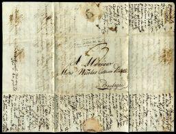 ITALY/FRANCE GENOVA 1806 TO BOULOGNE, FRANCE - Italy