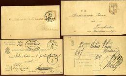 HUNGARY POSTAL STATIONERY 1886/95 - Hungary