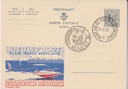 PUBLIBEL N° 1625 NIEUWPOORT - NF - Interi Postali