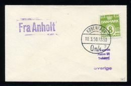 DENMARK FRA SHIPPING MAIL 1950 - Denmark