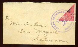 EL SALVADOR BISECT SENSONA 1903 - El Salvador