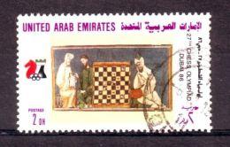 UNITED ARAB EMIRATES CHESS VARIETY 1986 - United Arab Emirates
