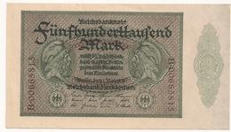Allemagne. Reichsbanknote 500000 Mark. Mai 1923. état Neuf Mint - 1918-1933: Weimarer Republik