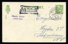 DENMARK FRA SHIPPING MAIL 1951 - Denmark