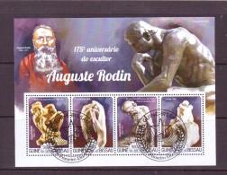 GUINEE-BISSAU 2015 RODIN  Y N°  OBLITERE