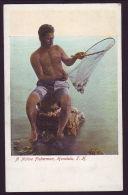 HAWAII FISHERMAN POSTCARD - Ethnics