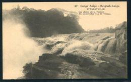 BELGIAN CONGO STATIONERY WATERFALL TSHOPO 1922 - Souvenir Cards