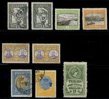 ROMANIA 1915 ARDELENI POSTAL TAX AND 1913 S. DOBRUJA - Romania