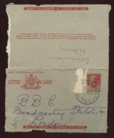 AUSTRALIA, TASMANIA LETTERCARD 1952 - Postmark Collection