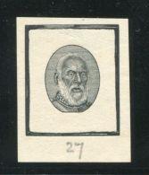 TONGA 1892 KING GEORGE I DIE PROOF KING'S HEAD NEW ZEALAND No.27 - Tonga (...-1970)