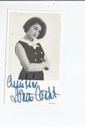LOUISE CORDET CARTE AVEC AUTOGRAPHE - Autographs