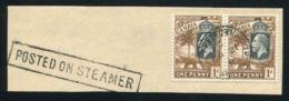 GAMBIA USED ABROAD SIERRA LEONE MARITIME - Gambia (...-1964)