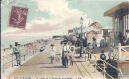CALVADOS - 14 - LUC SUR MER - La Digue Et La Passerelle Du Quilhoc - Luc Sur Mer