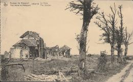 Nieuport  Nieuwpoort Station  Gare Ruines 1914 - Nieuwpoort